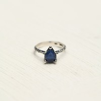 Tear Drop Stone Ring
