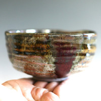 Chawan, Tea Bowl, handmade ceramic tea cup, ceramic and pottery