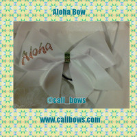 Rhinestone Aloha Bow as seen on Instagram