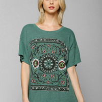 Truly Madly Deeply Folk Tale Triblend Tee - Urban Outfitters