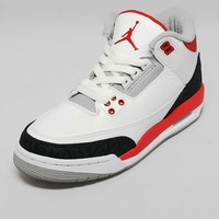 Jordan III 'Fire Red' Junior