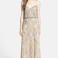 Adrianna Papell Beaded Chiffon Blouson Dress | Nordstrom