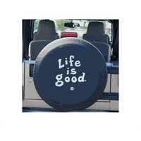 Life is Good Coin Tire Cover