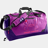 UA Hustle Storm MD Duffle Bag