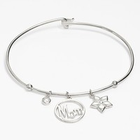 Argento Vivo 'Mom' Charm Bangle Bracelet | Nordstrom
