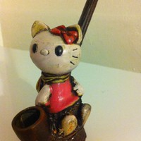 Handmade Hello Kitty Tobacco Pipe