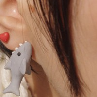 New One Shark - Cute Popular Earring Stud