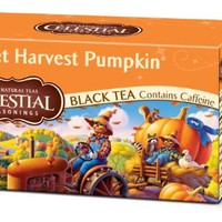 Celestial Seasonings Sweet Harvest Pumpkin Black Tea, 20-Tea Bags, 2.3oz.