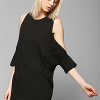 Truly Madly Deeply Cold Shoulder Tee - Urban Outfitters