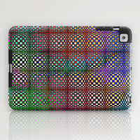 Psychedelic Quilt iPad Case by Peter Gross