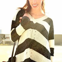 Adore My Stripes Sweater | Shop Civilized