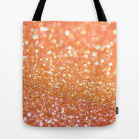 Apricot Honey Tote Bag by Lisa Argyropoulos