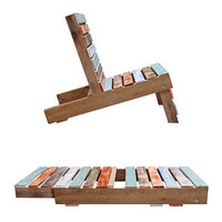 MAGNETIC PALLET CHAIR | Patio Furniture, Outdoor Seating, Adirondack Furniture, Deck Furniture | UncommonGoods