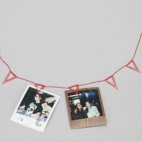Pennant Photo Clip Banner - Urban Outfitters