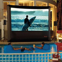 Outdoor Theater System with Playstation 3