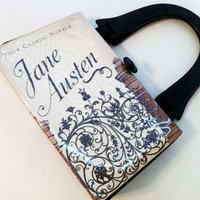 Jane Austen Book Purse - Your Choice of Handle