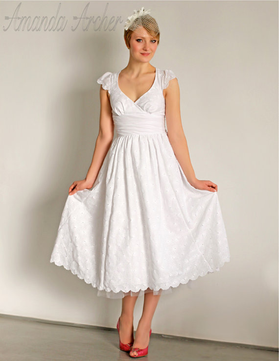 Soft Cotton Wedding Dresses 113